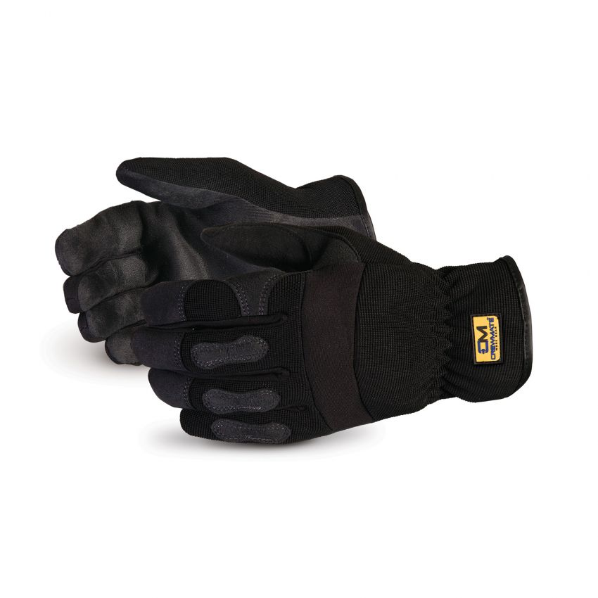 Clutch Gear Synthetic Leather Drivers/Mechanics Gloves - Superior Glove 378PL