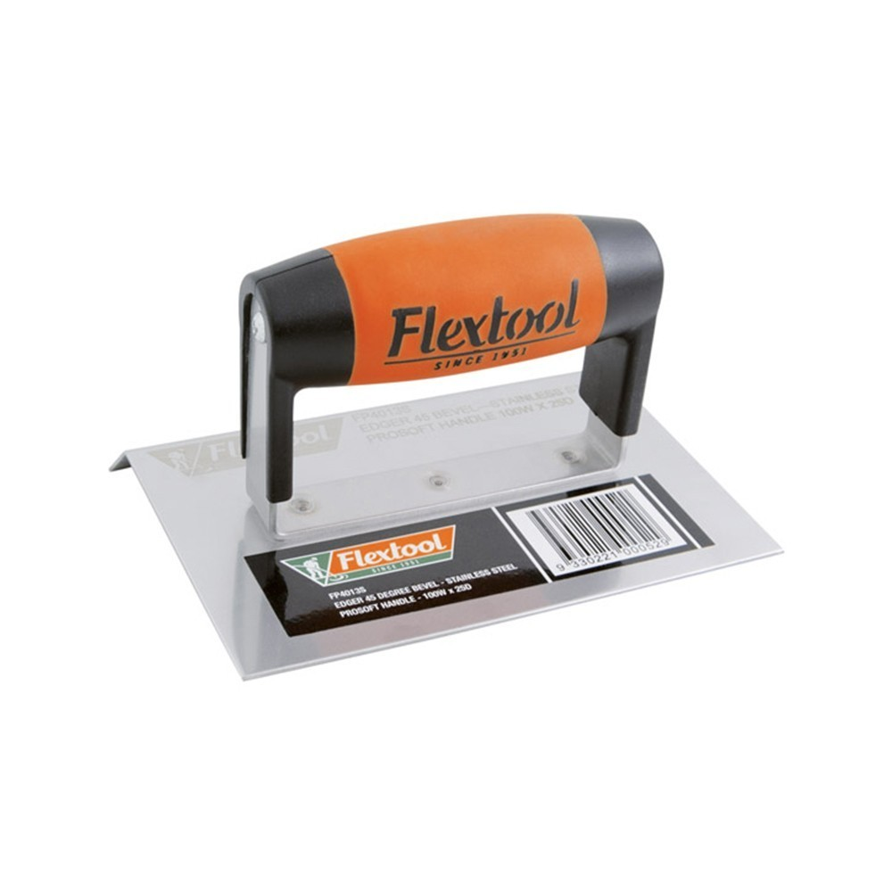 Concrete Edger, Bevel ProSoft Handle - Flextool