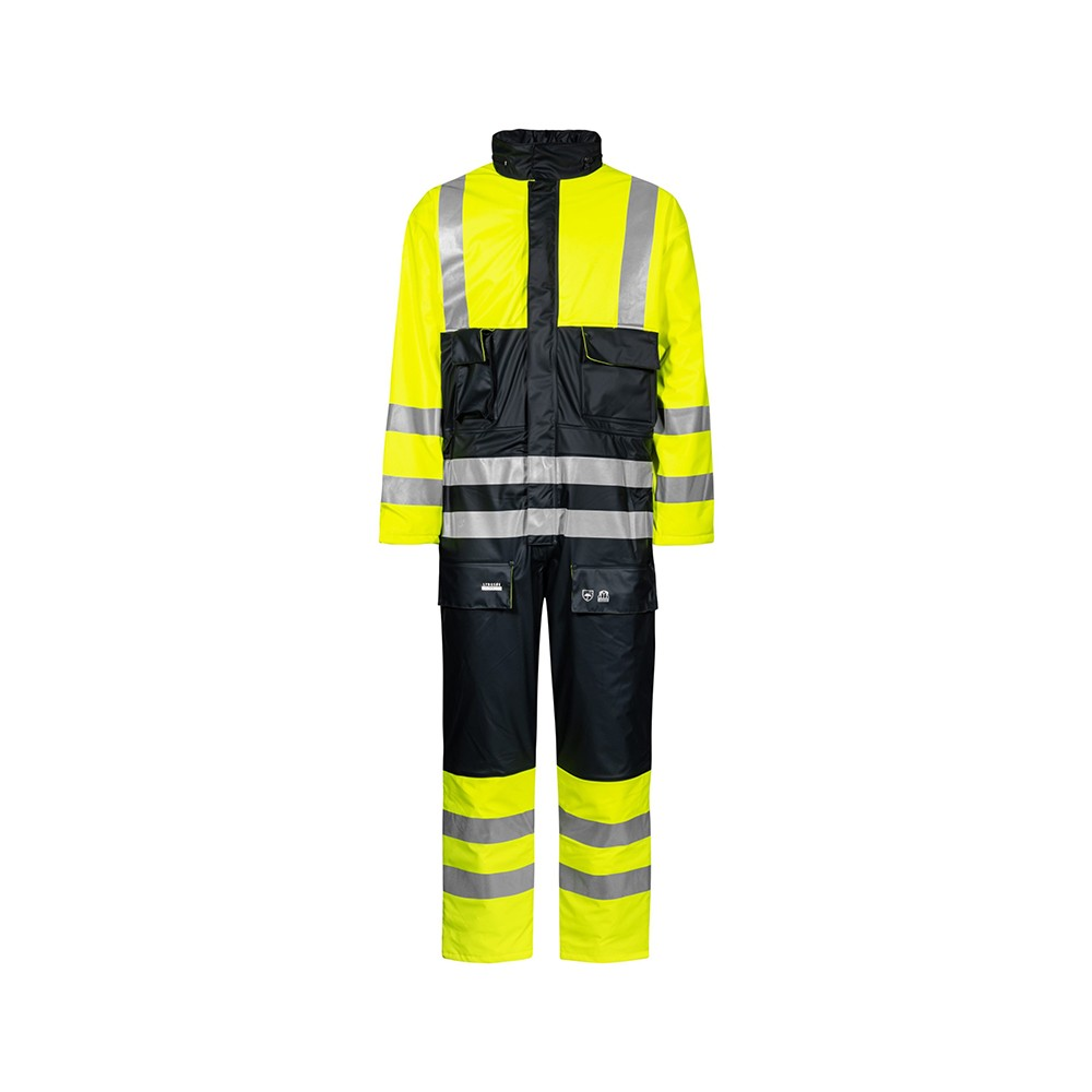 Hi-Vis Winter Coverall LR33 - Lyngsoe Rainwear