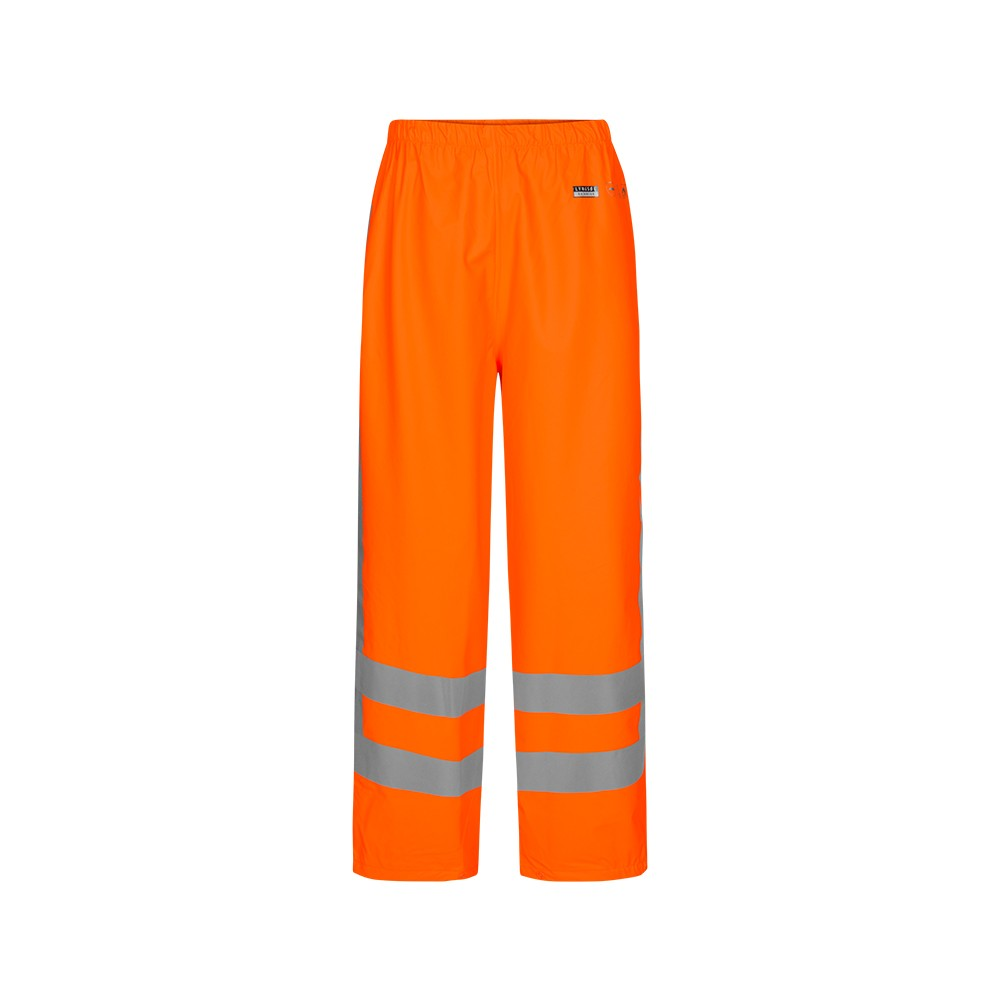 Hi-Vis Rain Trousers in LR52 - Lyngsoe Rainwear