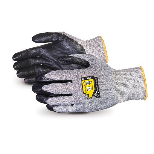 Superior Touch® 13-Gauge Knit with Dyneema®, Nitrile Palms - S13SXGNT