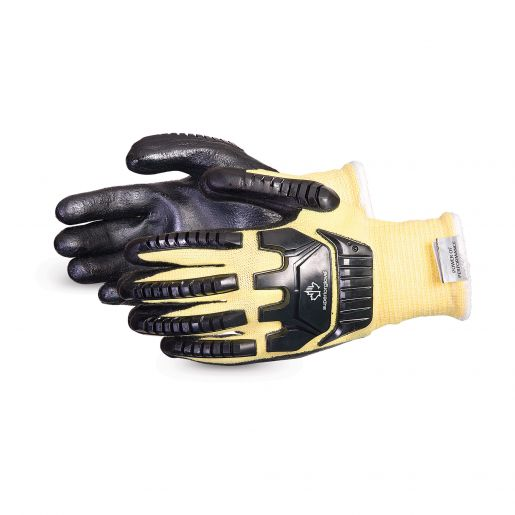 Dexterity® 13-Gauge Impact-Resistant Cut-Resistant Glove With Foam Nitrile Palms - SKFGFNVB
