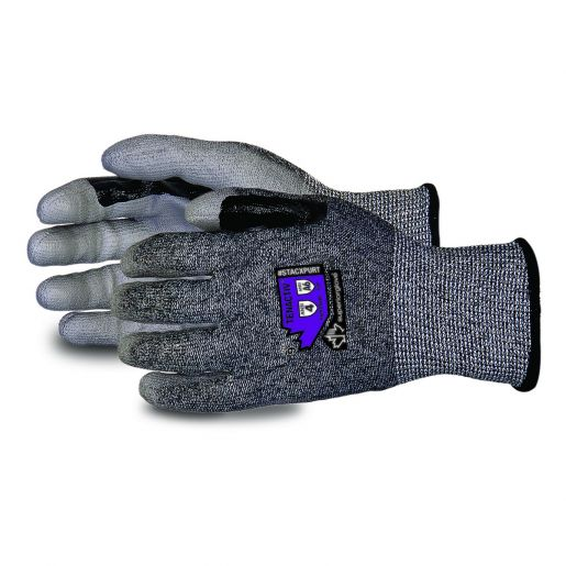 TenActiv™ Composite-Knit Cut-Resistant Glove with Reinforced Thumb and Polyurethane Palms - STACXPURT